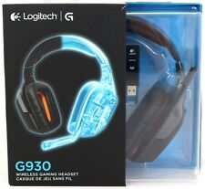 Logitech G930 Wireless PC Gaming Headset 7.1 Dolby Surround Sound Black