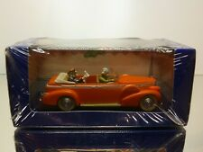 TINTIN HERGE 15 CADILLAC FLEETWOOD 1938 - TAXI NEW DELHI AU TIBET - MINT IN BOX