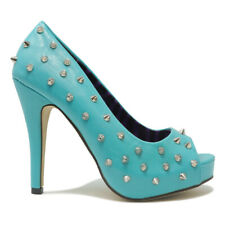ABBEY DAWN WOMENS WHAT THE HELL PLATFORM TURQUOISE