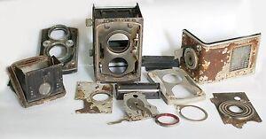 Genuine Rolleiflex Tlr camera for Parts Vintage