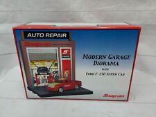 Modern Garage Diorama Ford F-150 Super Cab Snap On Tools NIB