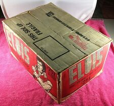 1978 Boxcar Elvis Presley Bubble Gum Trading Cards Empty Outer Case Donruss Rare