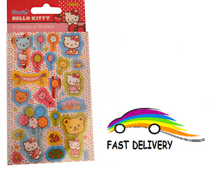 Hello Kitty Party Favour Pack Pack of 6 Childrens Character Fun Stickers