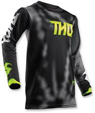 Thor Youth MX ATV Motocross Jersey S8Y Pulse Air Black X-Large
