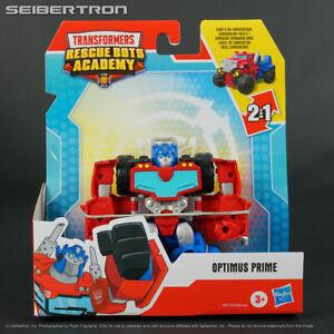 Rescan OPTIMUS PRIME Transformers Rescue Bots Academy Playskool 2021 ATV Jeep
