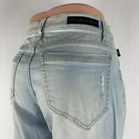 Rock and Republic Jeans Women's Light Wash Size 8 Straight Leg Mid Rise