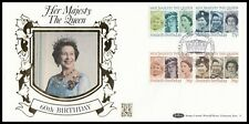 1986 GB Queen's 60th Birthday Benham Gold 500 (11) Official FDC Windsor SHS