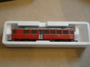 BEMO HoM RhB  Red Bernina Triebwagen A/Be 4/4 44. Bemo model1266 104
