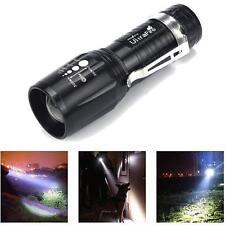 Ultrafire 2200 Lumens CREE XM-L T6 LED Taschenlampen Power Torch Zoom Stablampe