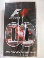 CASSETA VHS COFANETTO 2 Vhs  Formula Uno alla fine ce l'hanno fatta  ANNO 2000
