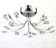 Munro Clear 5 Light Chrome Plated Ceiling Light