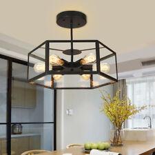Large Chandelier Kitchen Black Ceiling Lights Lobby LED Modern Pendant Lighting