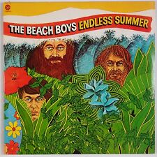 THE BEACH BOYS: Endless Summer USA Capitol 2x LP Orange Label SURF Rock VG++