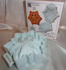 Snowflake Pocket Pie Maker, crimping pie maker Pie Recipe Baking Supplies Party