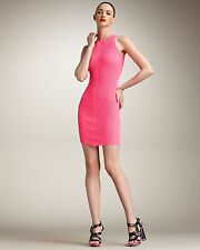 McQ Alexander McQueen Neon Pink Knit Dress Size M IT44 AUS/UK12 US8 DEN38 as new