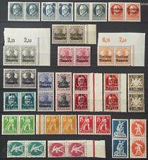 AD German Empire/Altdeutschland (Bayern) In pairs (MNH) 1918/20