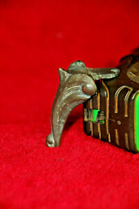 Vintage Bronze Brass Box Metal Feet furniture accessories legs corner guard 4pcs