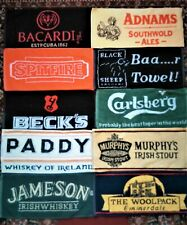 10 Different Beer - Bar Towels -  NEW Lot 1