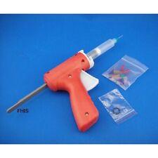 10ml Manual Syringe Gun Single Liquid Glue Gun 10cc 1pcs with 10cc Cone 1pcs