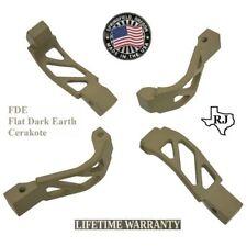 OVERSIZED Trigger Guard Cerakote - FDE Made In USA 223/5.56/308 Winter Glove #1