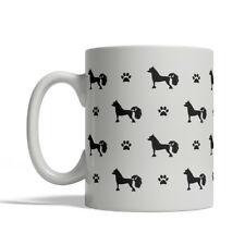 Chinese Crested Dog Silhouettes Coffee Mug, Tea Cup 11 oz ceramic silhouette