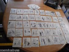 Dolly lot of 80 1960's VINTAGE Newspaper cut comic strips Williams