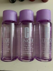 Lot Of 3 Clinique Take The Day Off Makeup Remover 1.7oz/50ml Brand New