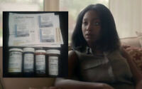Condor Production Used Mouna Traore (Shadowhunters) Empty Pill Bottles & Labels