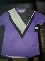 "Nike NikeCourt NY Challenger Tennis Top AT4235-550 ""Psychic Purple"" Men's Medium"