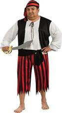 ADULT MENS PIRATE COSTUME PLUS SIZE RU17694