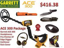 Garrett Ace 300 Metal Detector Special With 3 Accessories