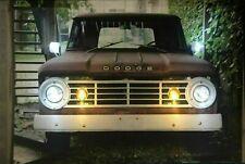 LED Bild Wandbild Bilderrahmen 65 cm x 45 cm Leuchtbild Auto US CAR / PICK UP