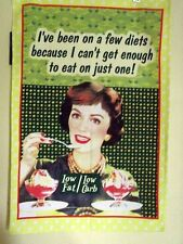 """1'VE BEEN ON A FEW DIETS""  PURE COTTON TEA TOWEL"
