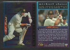 FUTERA 1996 CRICKET ELITE MICHAEL SLATER TEST HEROES CARD No 31