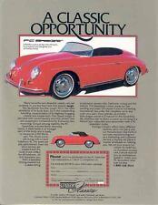 1955 1982 Porsche 356 Speedster PC Kit Car Brochure wp680-M4JE9B