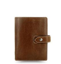 Filofax 'Malden' Ochre Pocket Size Organiser & Diary Soft Buffalo Leather 425842