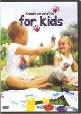HANDS ON CRAFTS FOR KIDS DVD - FROM PLAYGROUP AGE TO EARLY TEENS