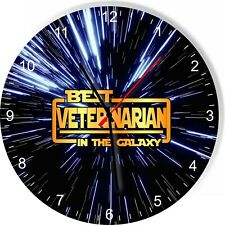 Best Veterinarian in the Star Galaxy Space Kitchen Living room Wall Clock