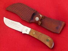 Queen Cut Co USA made mint full tang fixed blade 4190 Rawhide Series knife