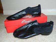 Unisex Adult CAPEZIO Flight FF03 Black Slip On Split Sole Jazz Shoes 12M, 12.5M