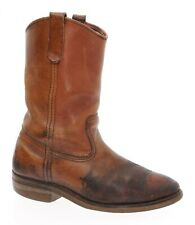 RED WING Boots 9 D Mens PECOS Vintage Leather Motorcycle BIKER Cowboy Boots USA