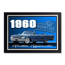 1960 Pontiac Bonneville Coupe Style Glossy Poster 24 x 36in