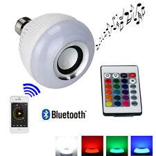 240V E27 LED RGB Bulb Bluetooth 6W Xmas Home Decors Bluetooth Music Audio Speake