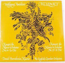 *-Vinyl-LP - MOZART - KONZERT für KLAVIER und ORCHESTER Nr. 14 &  27- BARENBOIM