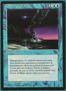 Mana Vortex The Dark (ITALIAN) NM Blue Rare MAGIC MTG CARD (ID# 180995) ABUGames