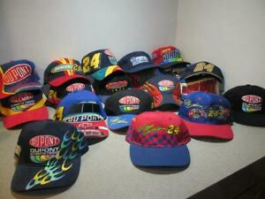 19 VINTAGE #24 JEFF GORDON BASEBALL CAPS NASCAR RACING HATS ~ CHASE AUTHENTICS