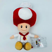 "Super Mario Bros 9.4"" Chef Toad Plush Doll Nintendo World UNIVERSAL STUDIOS JPN"