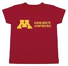Ncaa Minnesota Golden Gophers Children Unisex Short Sleeve Tshirt,Large,Crimson
