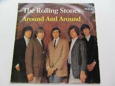 THE ROLLING STONES ORIGINAL 1965 FRENCH  LP AROUND AND AROUND