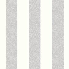 GLITTERATI PLATINUM GLITTER STRIPE WALLPAPER - ARTHOUSE 892503